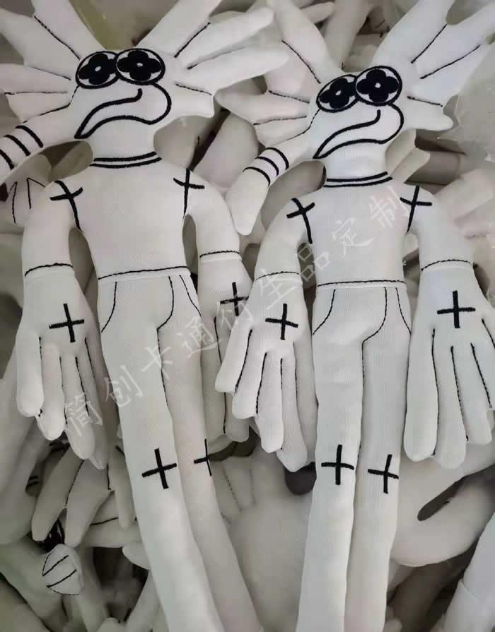個性的棉花娃服飾