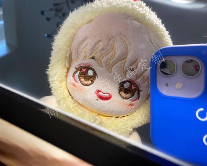 明星棉花娃娃定制:明星毛绒玩偶,20cm棉花娃娃,15cm棉花娃娃